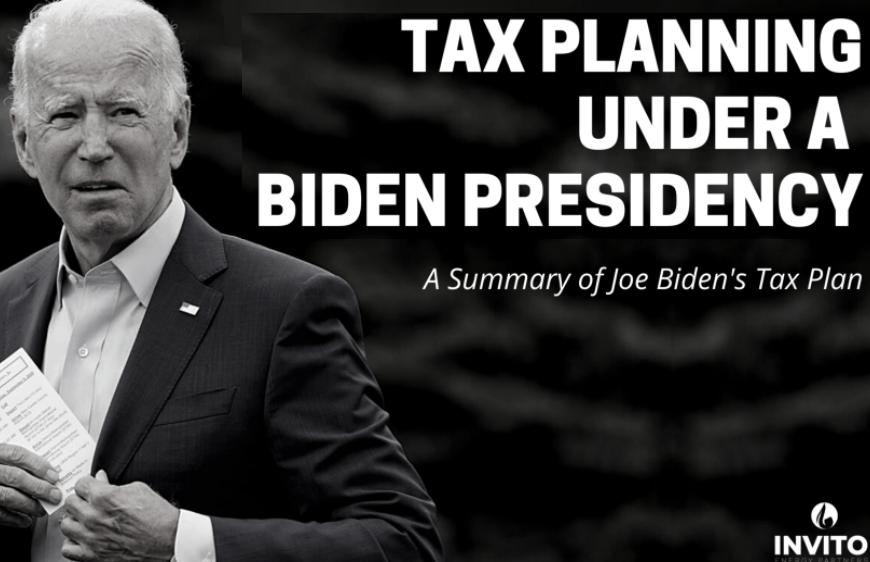 Tax Planning Under A Biden Presidency